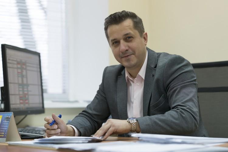 Андрей Зайцев, начальник управления подвижного состава ЗАО «Струнные технологии».