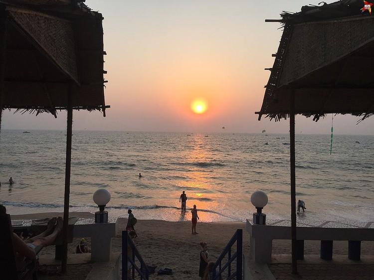 Индийский штат Гоа богат красивыми морскими пейзажами. Фото: Елизавета ДЕМКО.