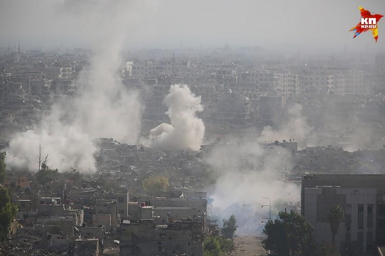 Боевики уже были практически в столице Сирии