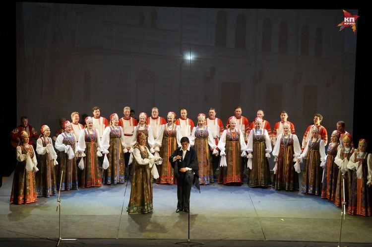 ТЮЗ поздравляет рязанский русский народный хор