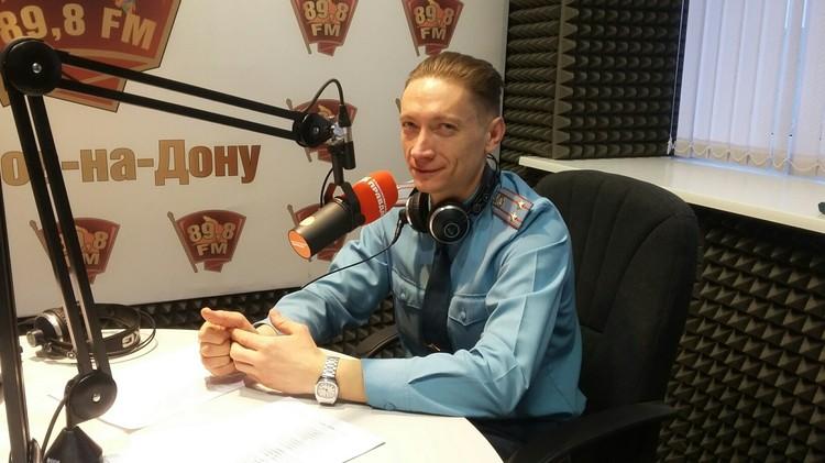 Гостем программы стал подполковник Игорь Тягненко