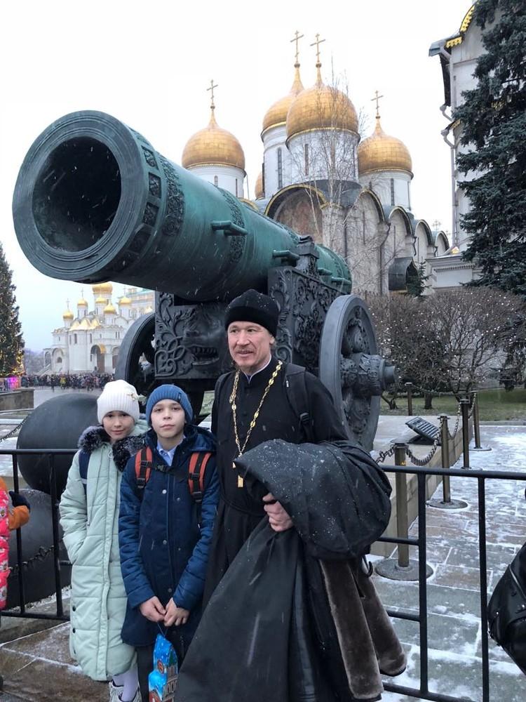В Москве амурчане провели три дня и осмотрели главные достопримечательности столицы. Фото: личный архив семьи Васильевых