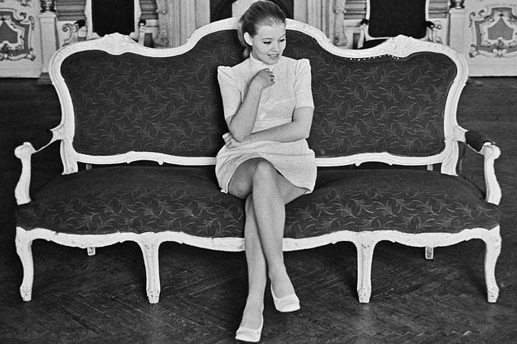 Людмила Сенчина родилась на Украине, переехала в Ленинград сразу после окончания школы Фото: ФОТОХРОНИКА ТАСС.