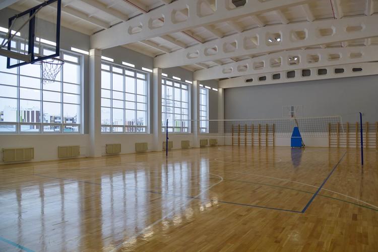 Спортивный зал школы. Фото компании «Запад».