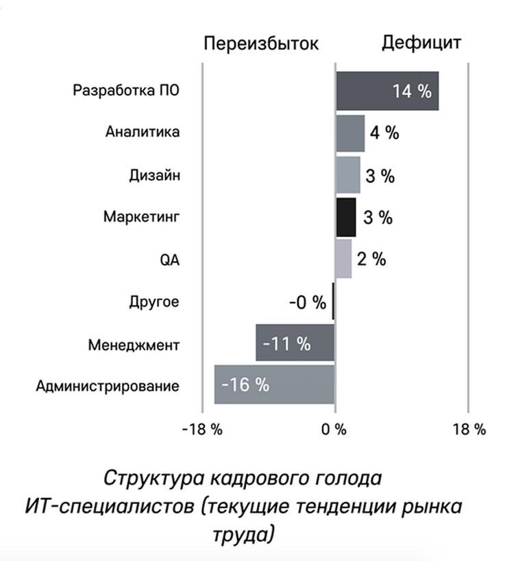 В ближайшие 10 лет России понадобится 2 миллиона айтишников