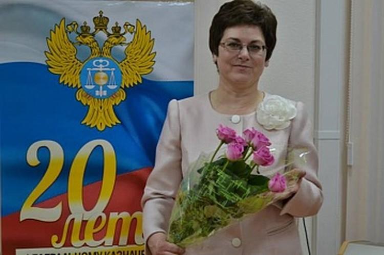 Начальник отдела Управления Федерального казначейства Оренбургской области Антонина Козупица