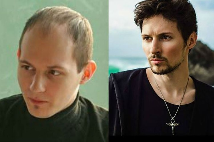 Павел Дуров 10 лет назад и сейчас. Фото: Личная страница героя публикации в соцсети