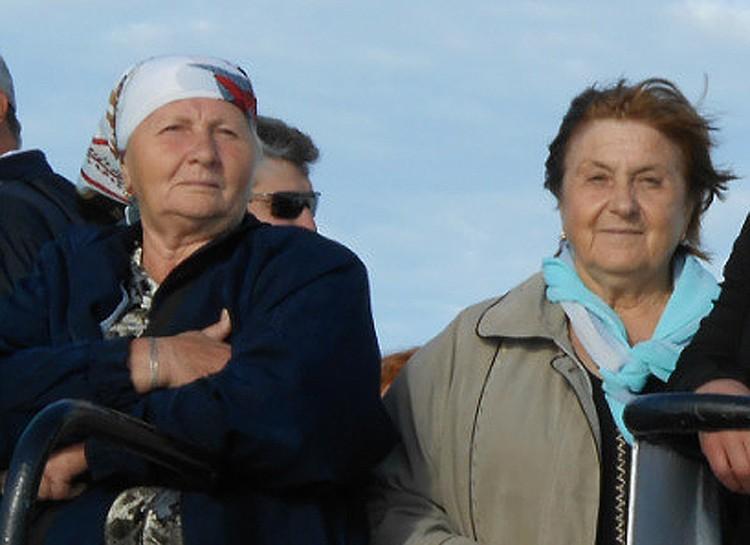 Вера Моргунова и Людмила Щербакова