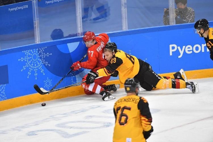 Финал хоккейного матча на Олимпийских играх в Пхенчхане был напряженным.