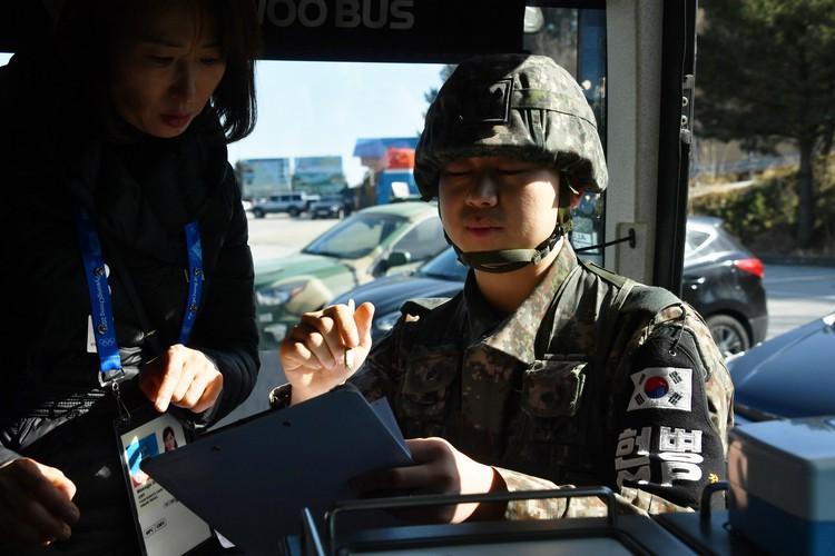 Во время Олимпиады журналистов возили на экскурсию на границу двух Корей