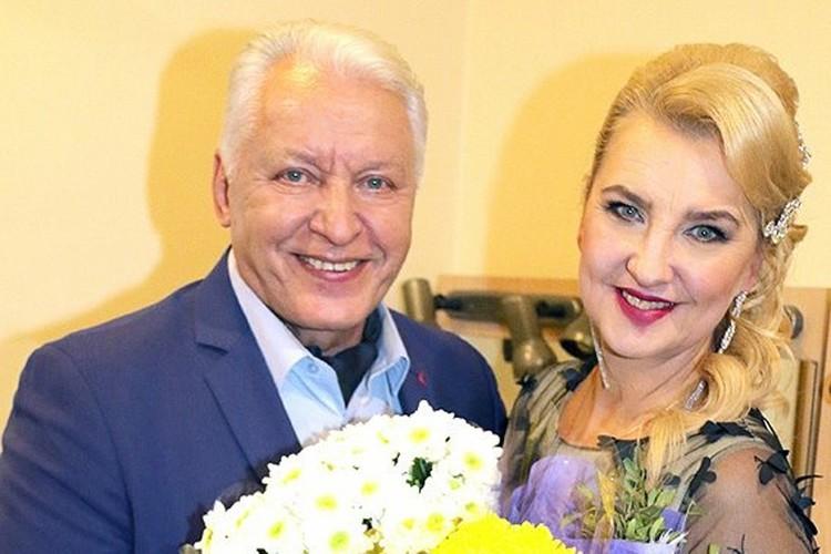 Марина Парусникова с мужем Александром Морозовым.