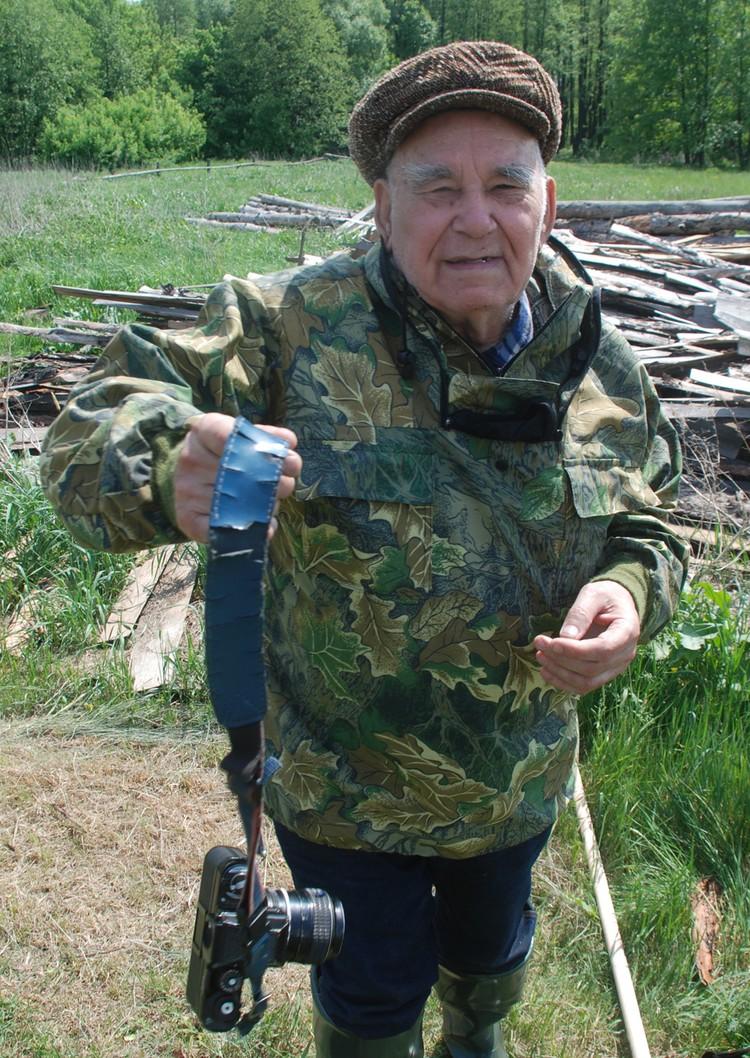 Один из последних снимков Василия Михайловича.