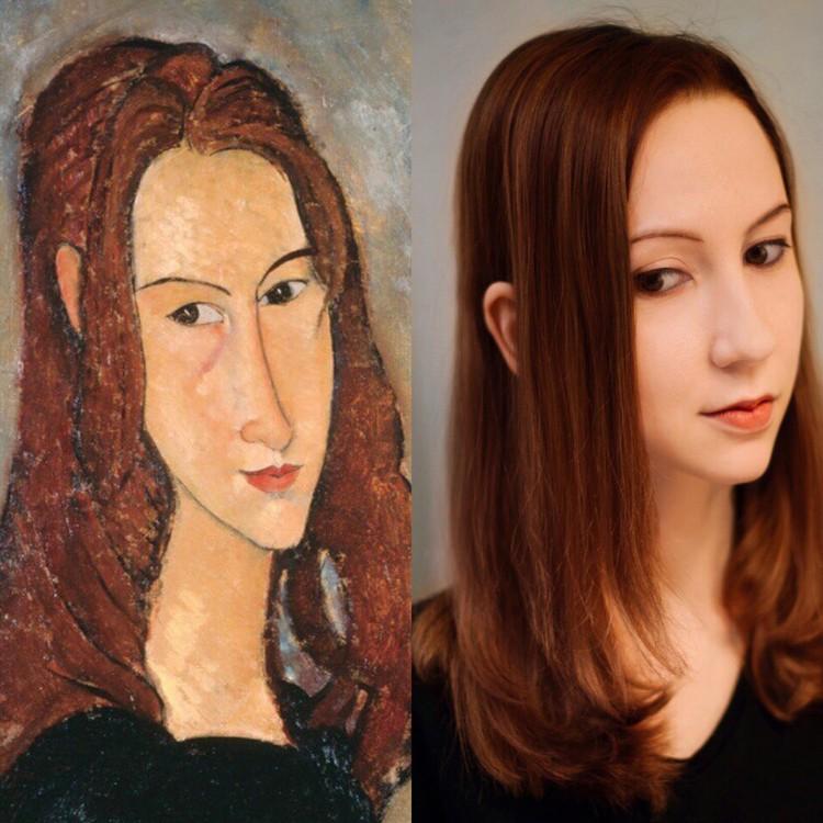 «Рыжеволосая девушка (Жанна Эбютерн)» Фото: музей Фаберже.