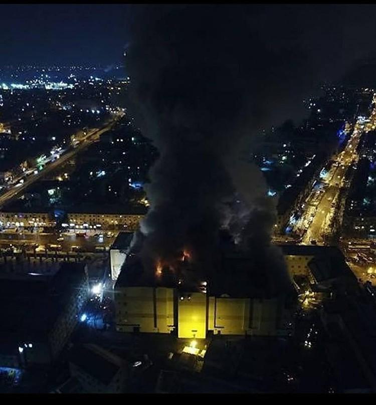 Следственный комитет РФ сообщил, что пожарные выходы действительно были заблокированы. Фото: Александра Иноземцева