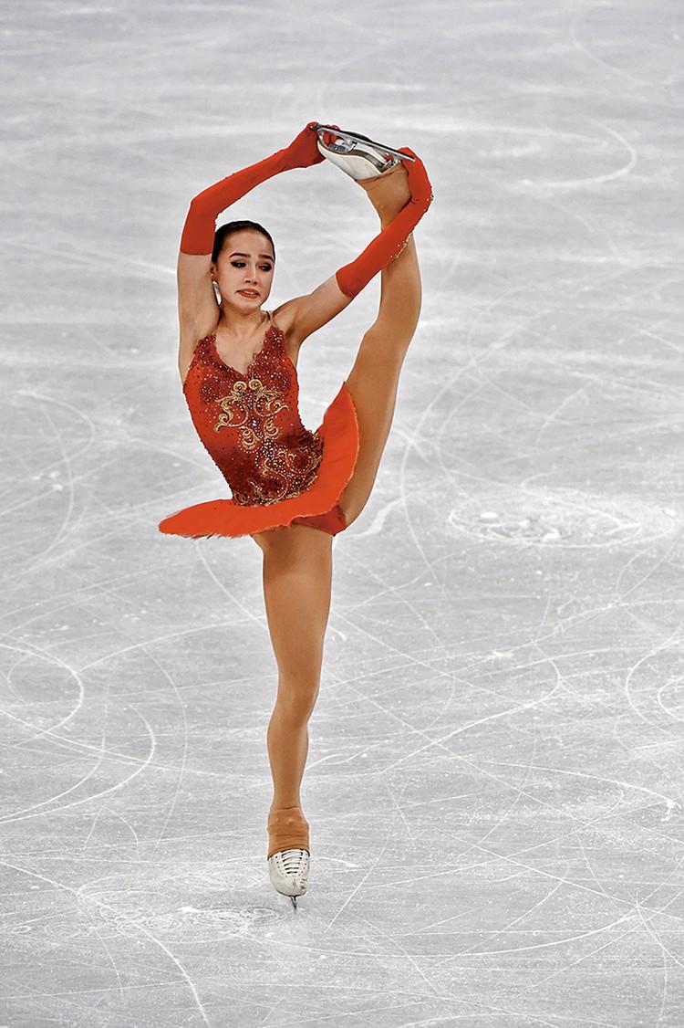 Алина Загитова, «Балетная красная пачка»