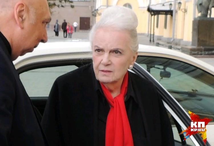 Актриса Элина Быстрицкая осенью 2017 года.