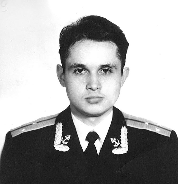 Старший лейтанант Сергей Цивилев. Северный флот.