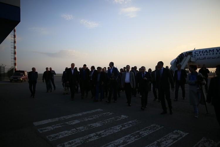 Иностранных гостей встретил глава Крыма Сергей Аксенов.