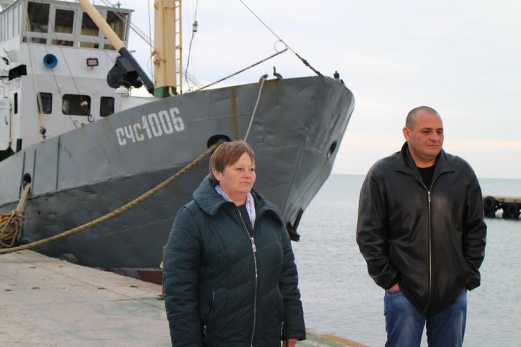 Ирина Оборина и Дмитрий таразанов на родной земле