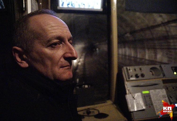 На Урал Андрей Панаиотиди попал по распределению после окончания Ленинградского института инженеров железнодорожного транспорта.