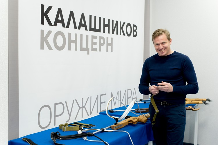 """Сейчас Иван Черезов работает на концерне """"Калашников""""."""