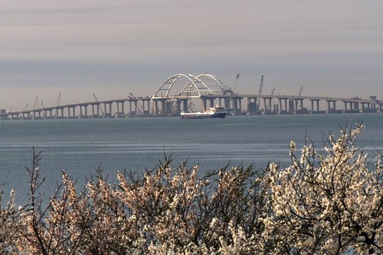 Мост сдан на полгода раньше запланированного срока.