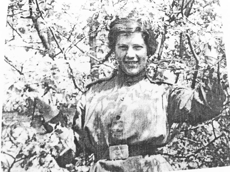 Люба Ясинская (фото 1943 г.) Фото: из фондов музея им. Лизы Чайкиной