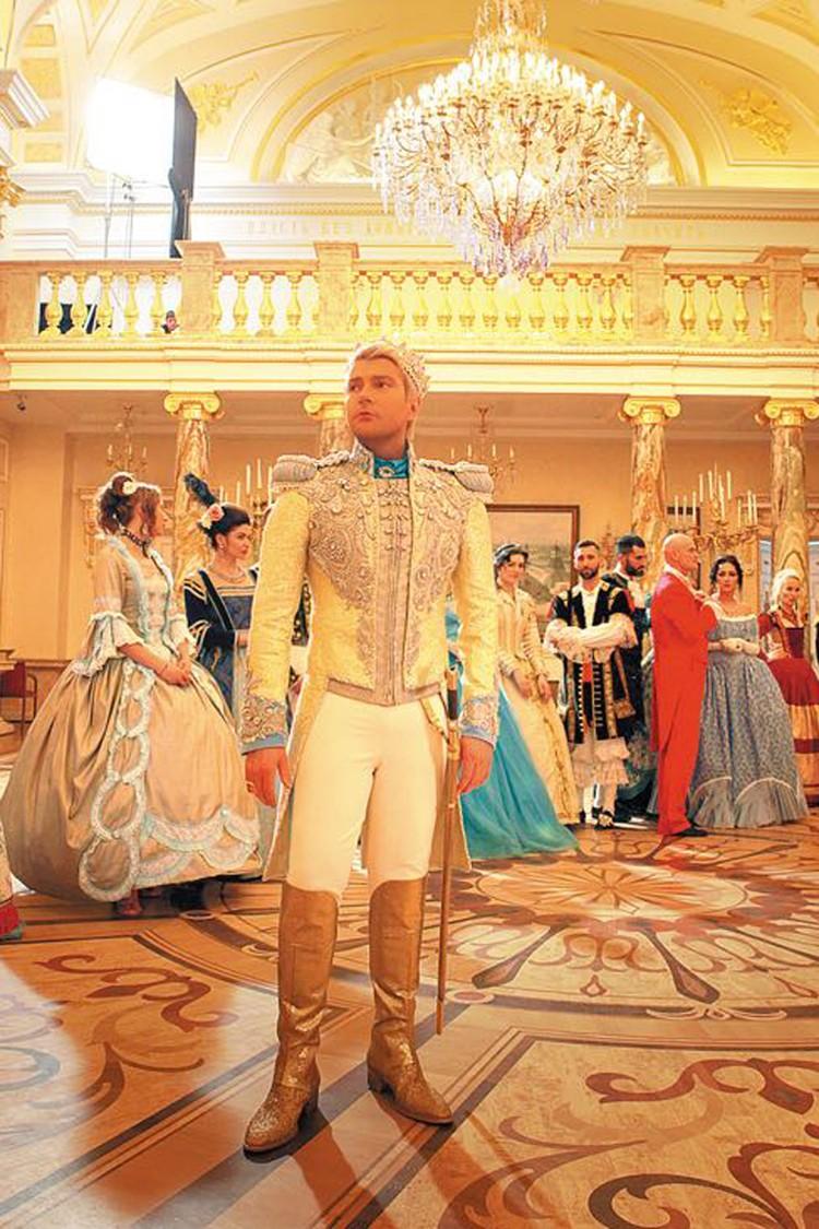 Николай исполнил роль прекрасного принца. Фото: Продюсерский центр Михаила Гуцериева