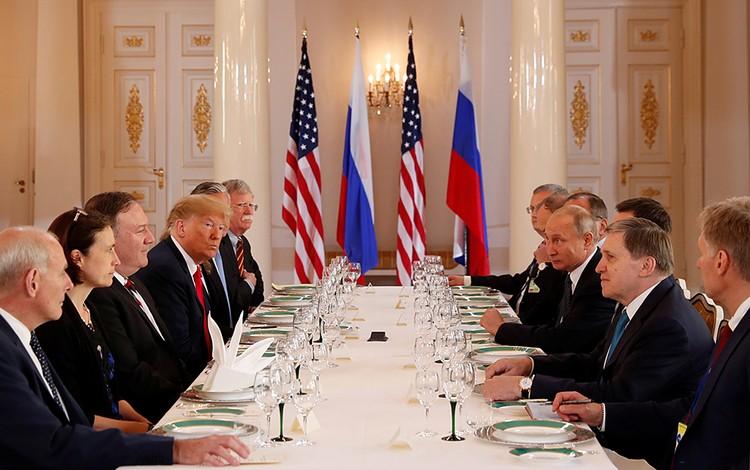 Теперь лидеры России и США примут участие в переговорах в расширенном составе