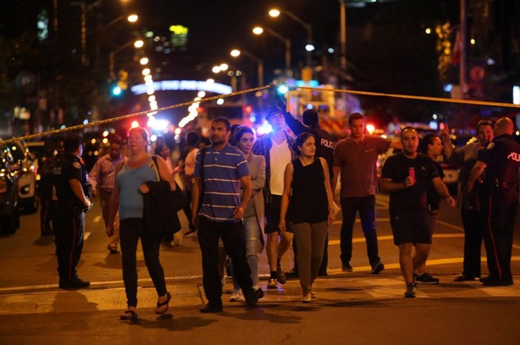 По словам очевидцев, они слышали не менее 25 выстрелов