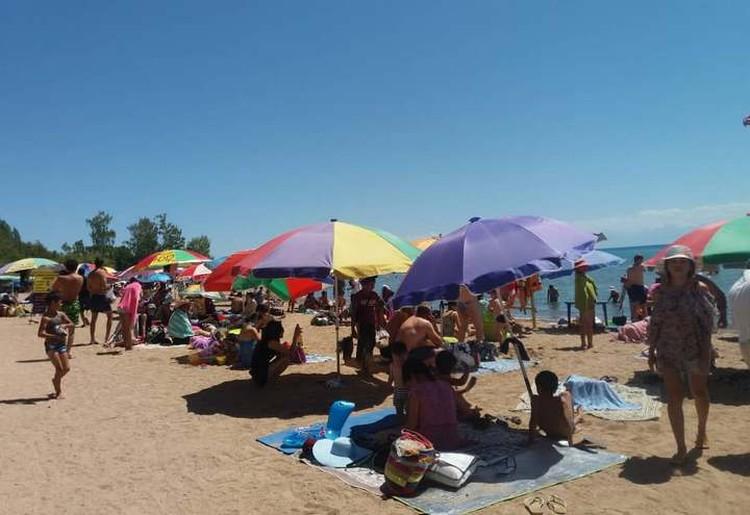 Безопасность отдыхающих на пляжах Иссык-Куля в руках самих отдыхающих.