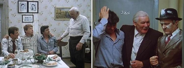 До и после сватовства - одна из ярчайших сцен фильма. Фото: кадры из фильма