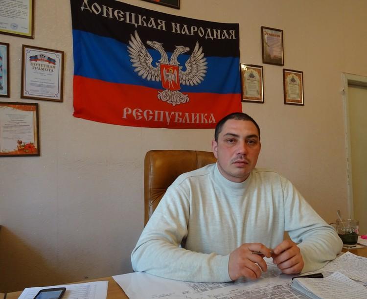 Глава Иловайска и ветеран ополчения Сергей Муковнин.