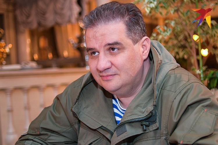 Министр доходов и сборов ДНР Александр Тимофеев.