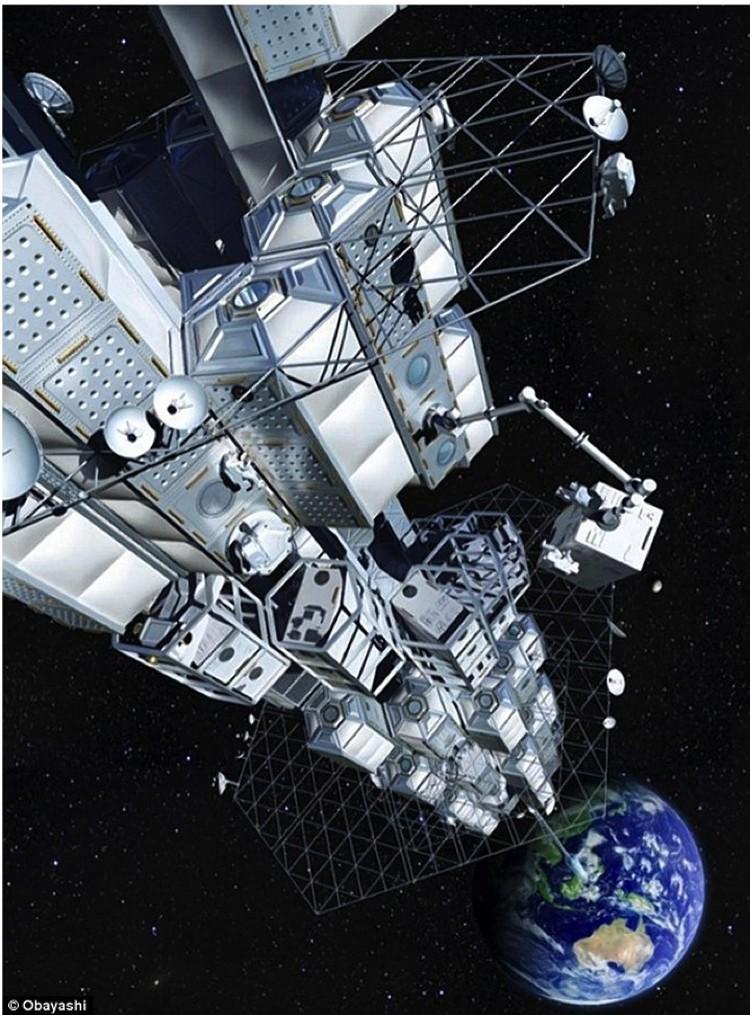 """Чтобы реализовать идею космического лифта, японцам предстоит пройти сложный путь от """"спичечного коробка"""" до гинатской конструкции."""
