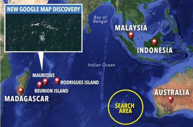 Еще один объект, похожий на пропавший Boeing 777-200, найден в районе Сейшельских островов.