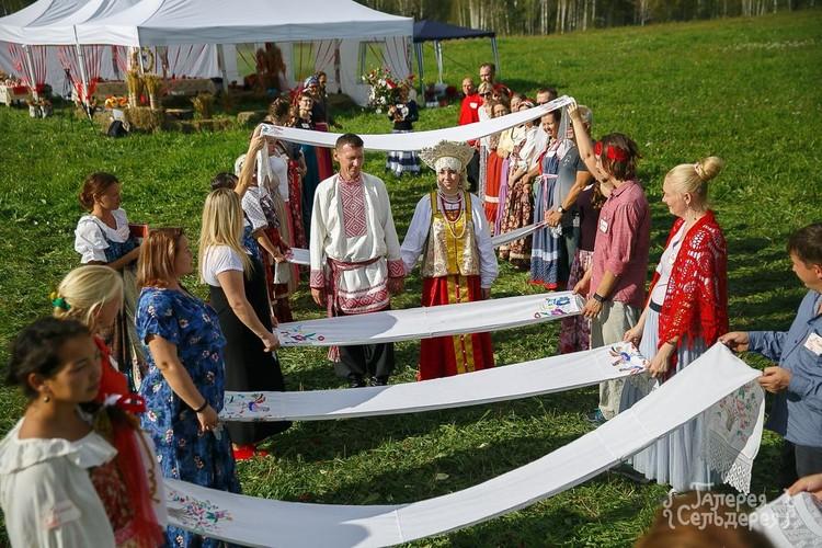 Все игры, традиции и обряды также были адаптированы и проведены. Фото: Надежда Семченко
