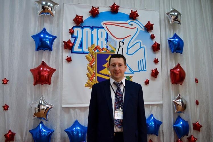 Юрий Клюев в этом году стал лучшим учителем Брянщины.