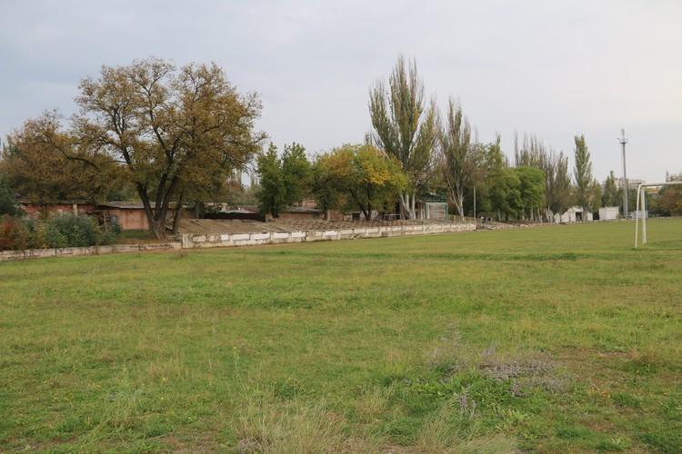 Стадион построили еще в тридцатые годы