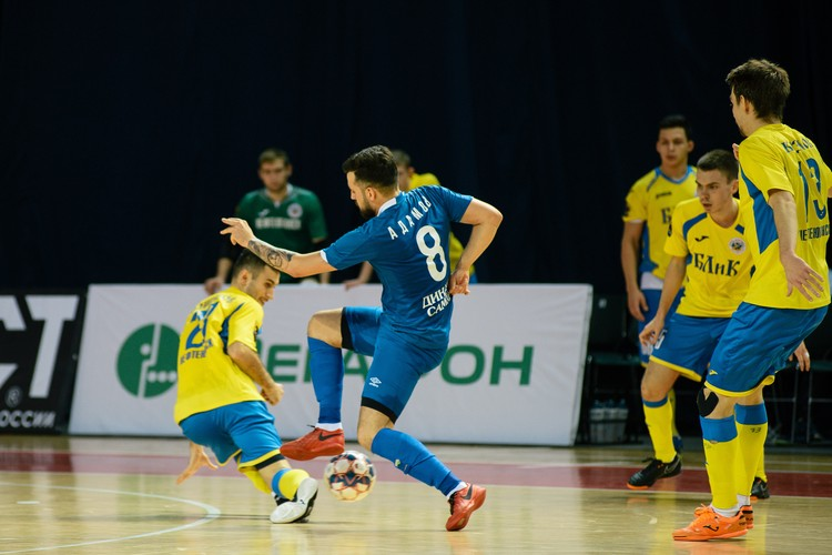 «Динамо» выступает в Суперлиге – первом по силе мини-футбольном дивизионе России и одной из лучших лиг в Европе