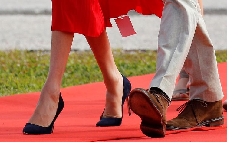 Герцогиня так и шла по красной дорожке с магазинной биркой.