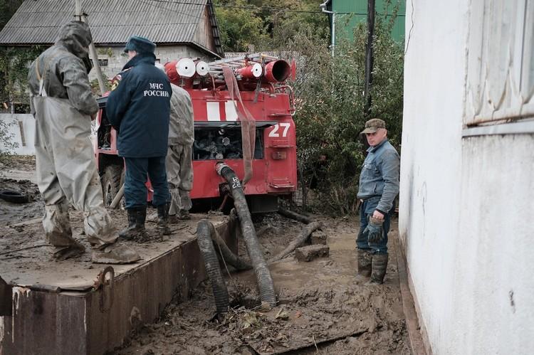 Наводнения из-за ливней случаются здесь практически каждый год. ФОТО УМЧС Краснодарского края
