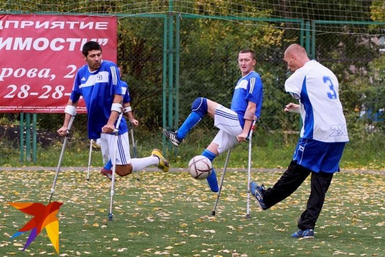 Футболисты-ампутанты «Динамо-Алтай» раскрыли секреты успеха