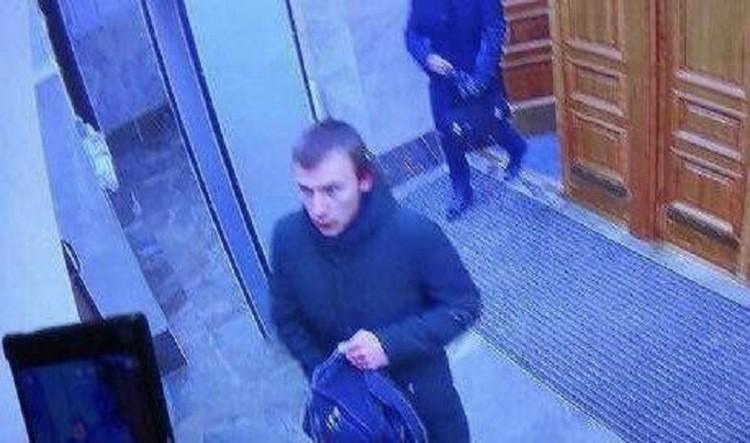 Подозреваемый во взрыве в здании ФСБ в Архангельске. Фото: СК России