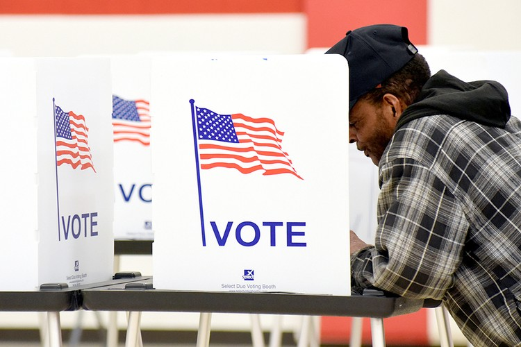 6 ноября в США проходит голосование за кандидатов в Конгресс.