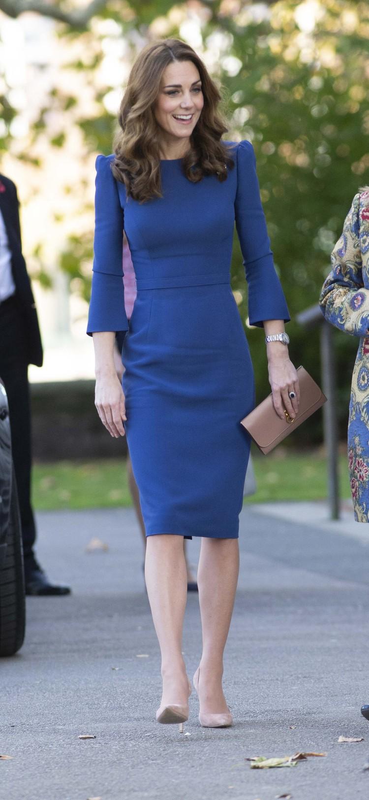 Кейт выглядит еще худее, чем до третьей беременности.