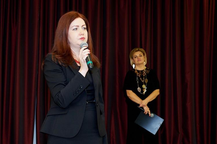 Директор Фонда Созидающий мир Наталия Берзина.