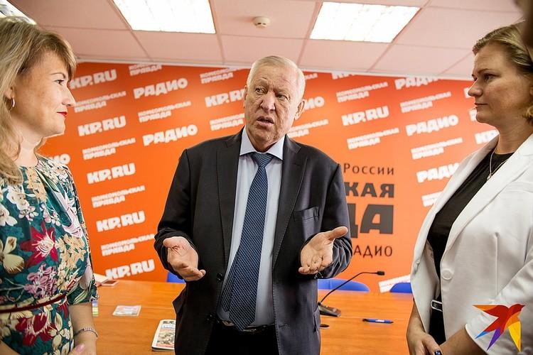 Евгений Тефтелев в гостях в челябинском филиале издательского дома «Комсомольская правда».