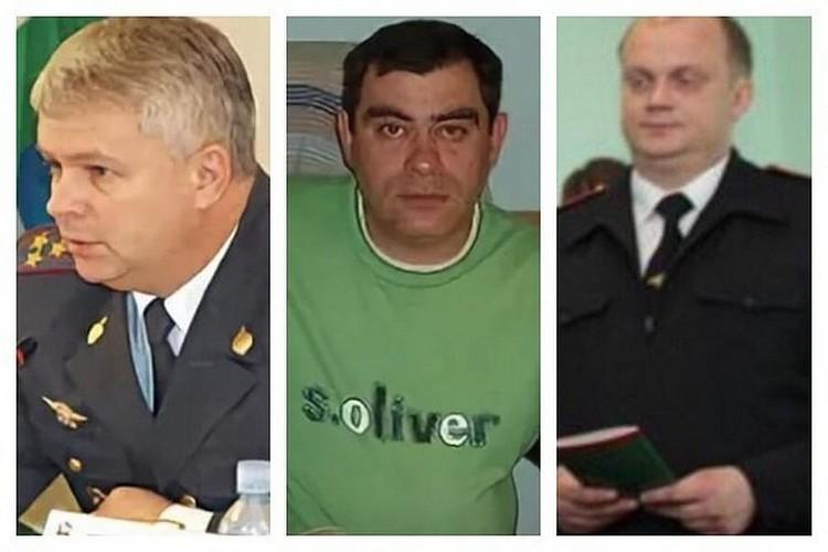 Слева направо - Матвеев, Галиев и Яромчук