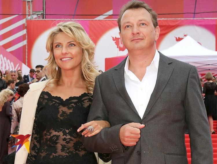Марат Башаров и Екатерина Архарова в 2014 году.